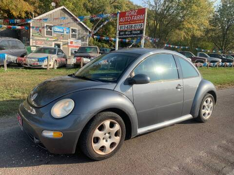 2002 Volkswagen New Beetle for sale at Korz Auto Farm in Kansas City KS