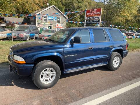 2001 Dodge Durango for sale at Korz Auto Farm in Kansas City KS