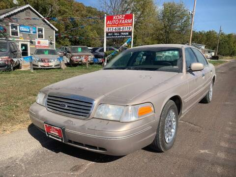 1998 Ford Crown Victoria for sale at Korz Auto Farm in Kansas City KS