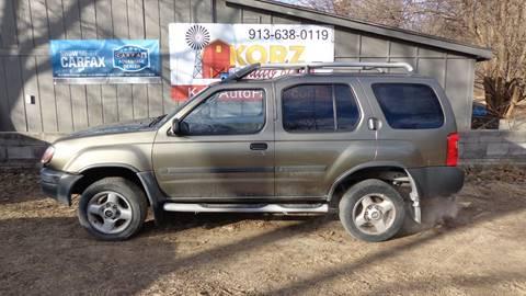 2001 Nissan Xterra for sale in Kansas City, KS