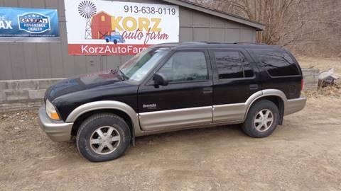 1999 Oldsmobile Bravada for sale in Kansas City, KS