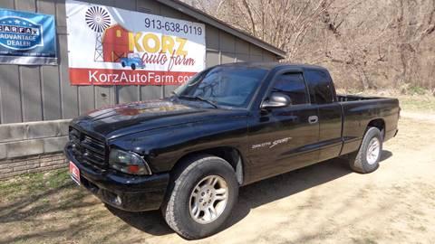 2001 Dodge Dakota for sale in Kansas City, KS