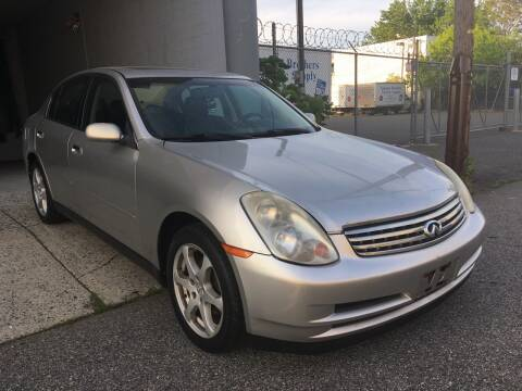 2004 Infiniti G35 for sale at Nationwide Motors LLC. in Paterson NJ