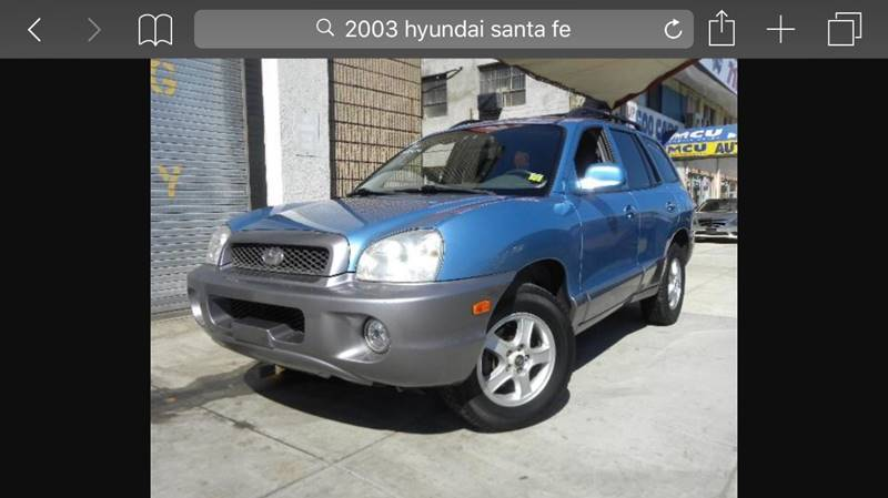 2003 Hyundai Santa Fe For Sale At Exotic Automotive Group In Jersey City NJ