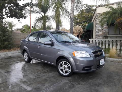 2011 Chevrolet Aveo for sale in Menifee, CA