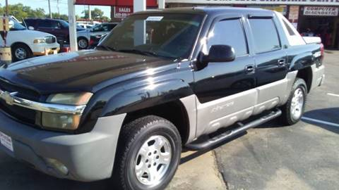 2002 chevrolet avalanche for sale in beaumont tx. Black Bedroom Furniture Sets. Home Design Ideas