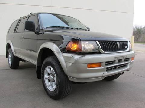 1998 Mitsubishi Montero Sport for sale in Richmond, TX