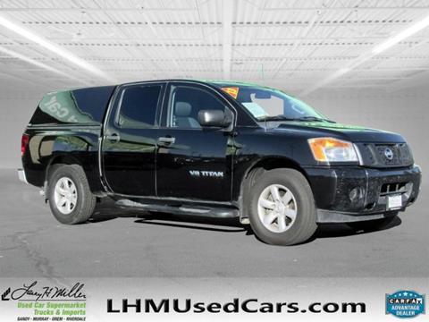 2013 Nissan Titan for sale in Sandy, UT