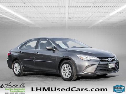 2016 Toyota Camry Hybrid for sale in Sandy, UT