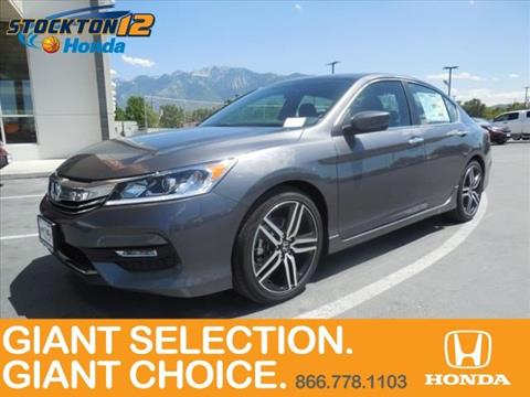 2017 Honda Accord for sale in Sandy UT