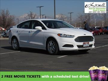 2016 Ford Fusion for sale in Murray, UT