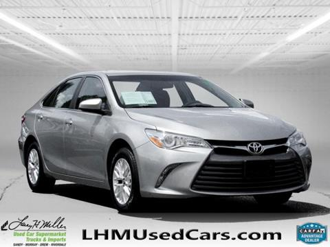 2016 Toyota Camry for sale in Murray, UT
