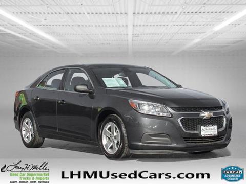 2015 Chevrolet Malibu for sale in Riverdale, UT