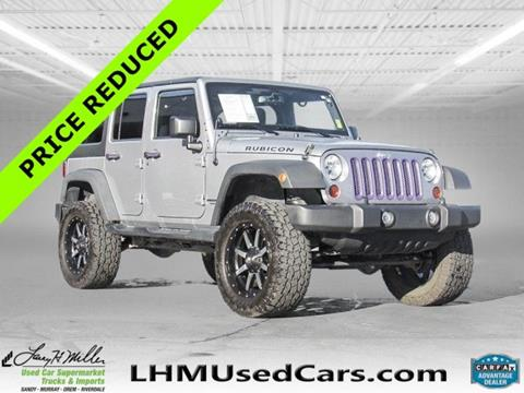 2013 Jeep Wrangler Unlimited for sale in Sandy UT