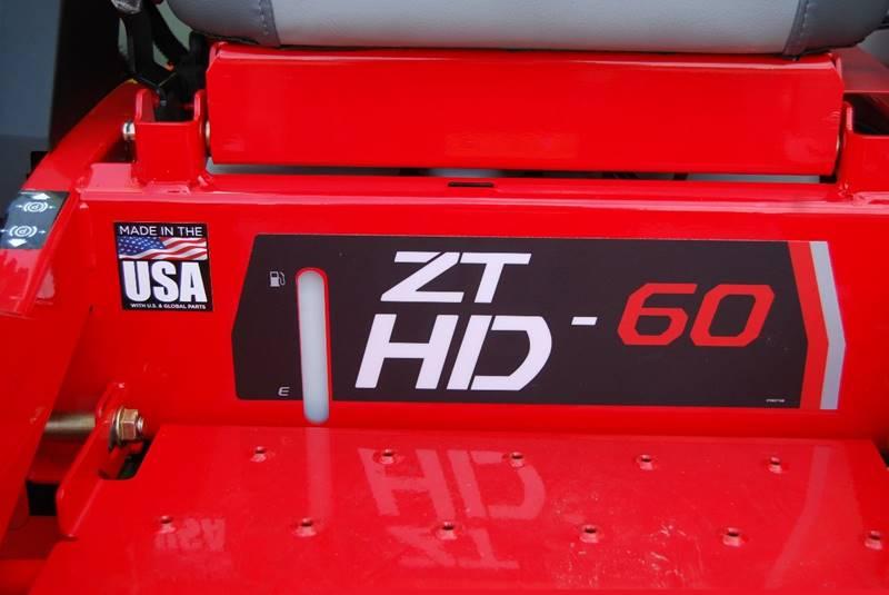 2021 GRAVELY ZT HD 60 for sale at DOE RIVER AUTO SALES in Elizabethton TN