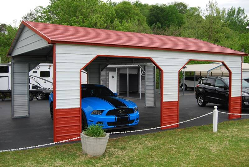 2020 CARPORTS AUTOMOBILE COVERS/PICNIC SHEDS for sale at DOE RIVER AUTO SALES - Carports in Elizabethton TN