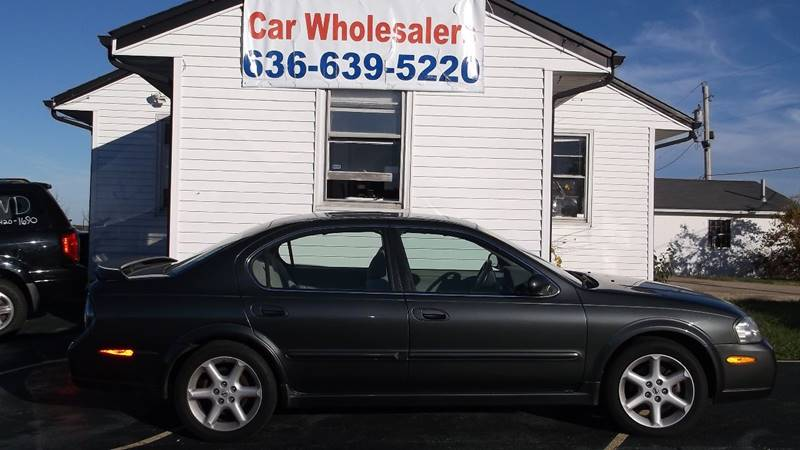 2003 Nissan Maxima Se 4dr Sedan In Wentzville Mo Car Wholesalers
