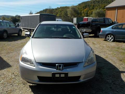2004 Honda Accord for sale in Williamstown, VT