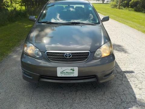 2007 Toyota Corolla for sale in Williamstown, VT