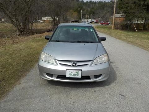 2004 Honda Civic for sale in Williamstown, VT