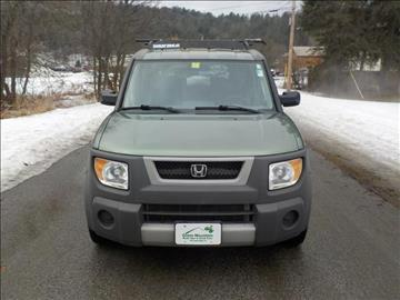 2005 Honda Element for sale in Williamstown, VT