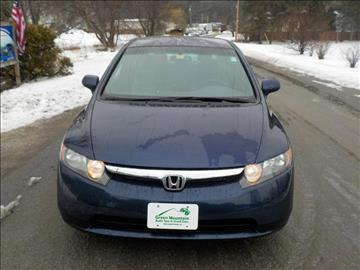 2008 Honda Civic for sale in Williamstown, VT