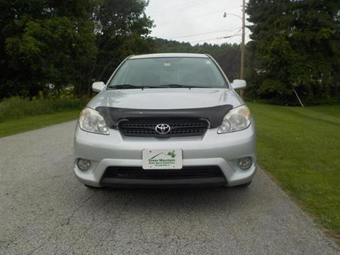 2005 Toyota Matrix for sale in Williamstown, VT