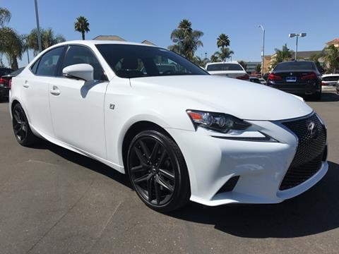 2015 Lexus IS 350 for sale in Santa Maria CA