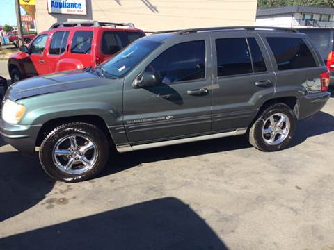 2002 Jeep Grand Cherokee for sale at All Star Automotive in Tacoma WA