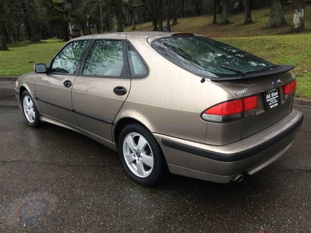 2002 Saab 9 3 4dr Se Turbo Hatchback In Tacoma Wa All Star