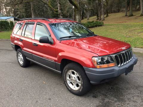 2001 Jeep Grand Cherokee for sale at All Star Automotive in Tacoma WA