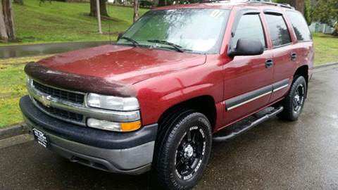 2001 Chevrolet Tahoe for sale at All Star Automotive in Tacoma WA