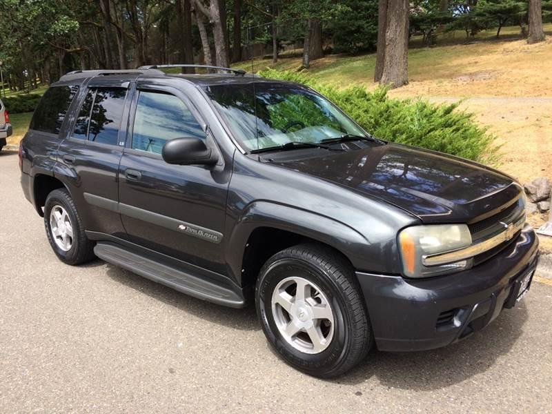 2004 chevrolet trailblazer ls 4dr suv in tacoma wa all star automotive 2004 chevrolet trailblazer ls 4dr suv