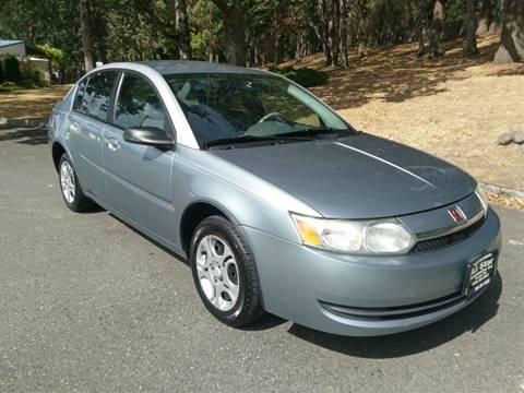 2003 Saturn Ion for sale at All Star Automotive in Tacoma WA