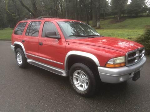 2002 Dodge Durango for sale at All Star Automotive in Tacoma WA