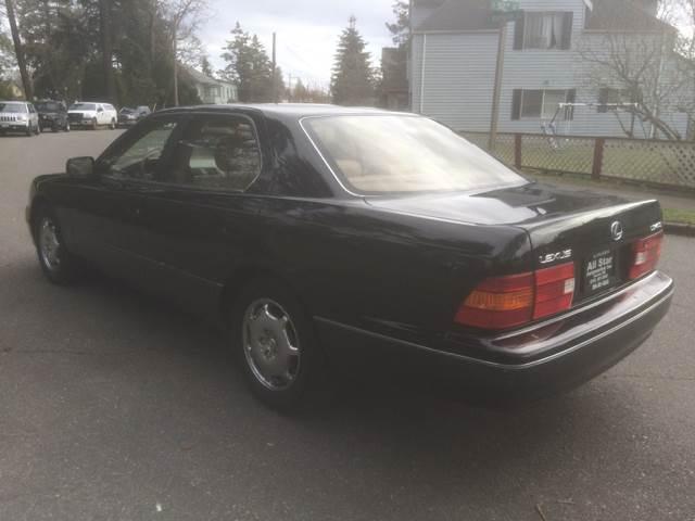 1999 Lexus LS 400 4dr Sedan - Tacoma WA