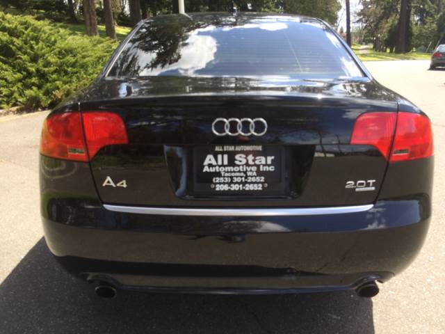 2008 Audi A4 AWD 2.0T Special Ed. quattro 4dr Sedan (2L I4 6A) - Tacoma WA