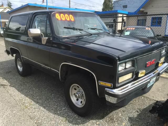 1989 GMC Jimmy 2dr 4WD SUV - Tacoma WA