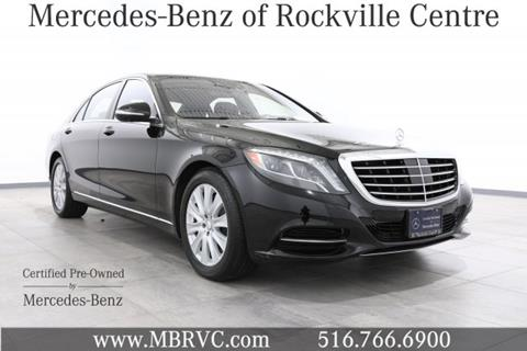 2014 Mercedes-Benz S-Class for sale in Rockville Centre NY