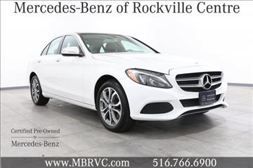 2015 mercedes benz c class for sale in rockville centre ny