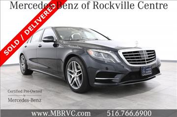 2015 mercedes benz s class for sale in rockville centre ny