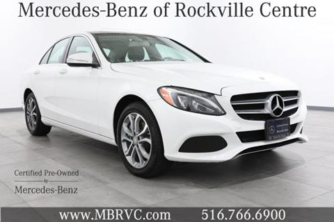 2015 Mercedes-Benz C-Class for sale in Rockville Centre NY