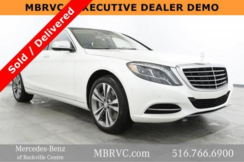 2017 Mercedes-Benz S-Class for sale in Rockville Centre, NY