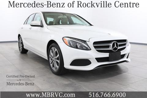 2015 Mercedes-Benz C-Class for sale in Rockville Centre, NY