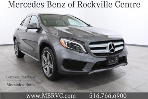 2015 Mercedes-Benz GLA for sale in Rockville Centre NY