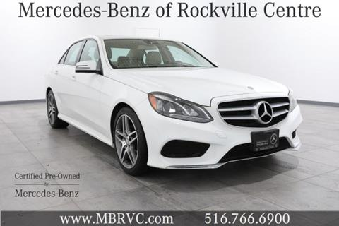 2016 Mercedes-Benz E-Class for sale in Rockville Centre NY