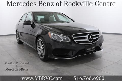 2015 Mercedes-Benz E-Class for sale in Rockville Centre, NY