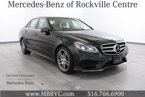 2015 Mercedes-Benz E-Class for sale in Rockville Centre NY