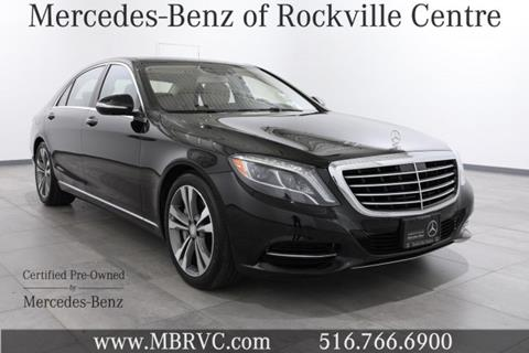 2015 Mercedes-Benz S-Class for sale in Rockville Centre, NY