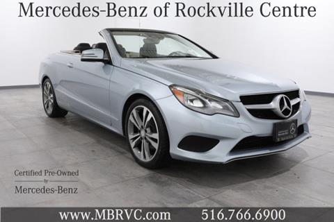2014 Mercedes-Benz E-Class for sale in Rockville Centre NY